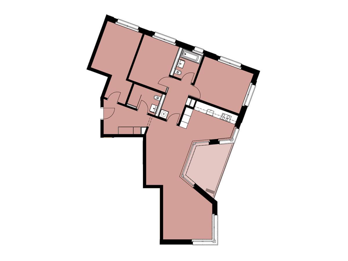 Grundriss von C12