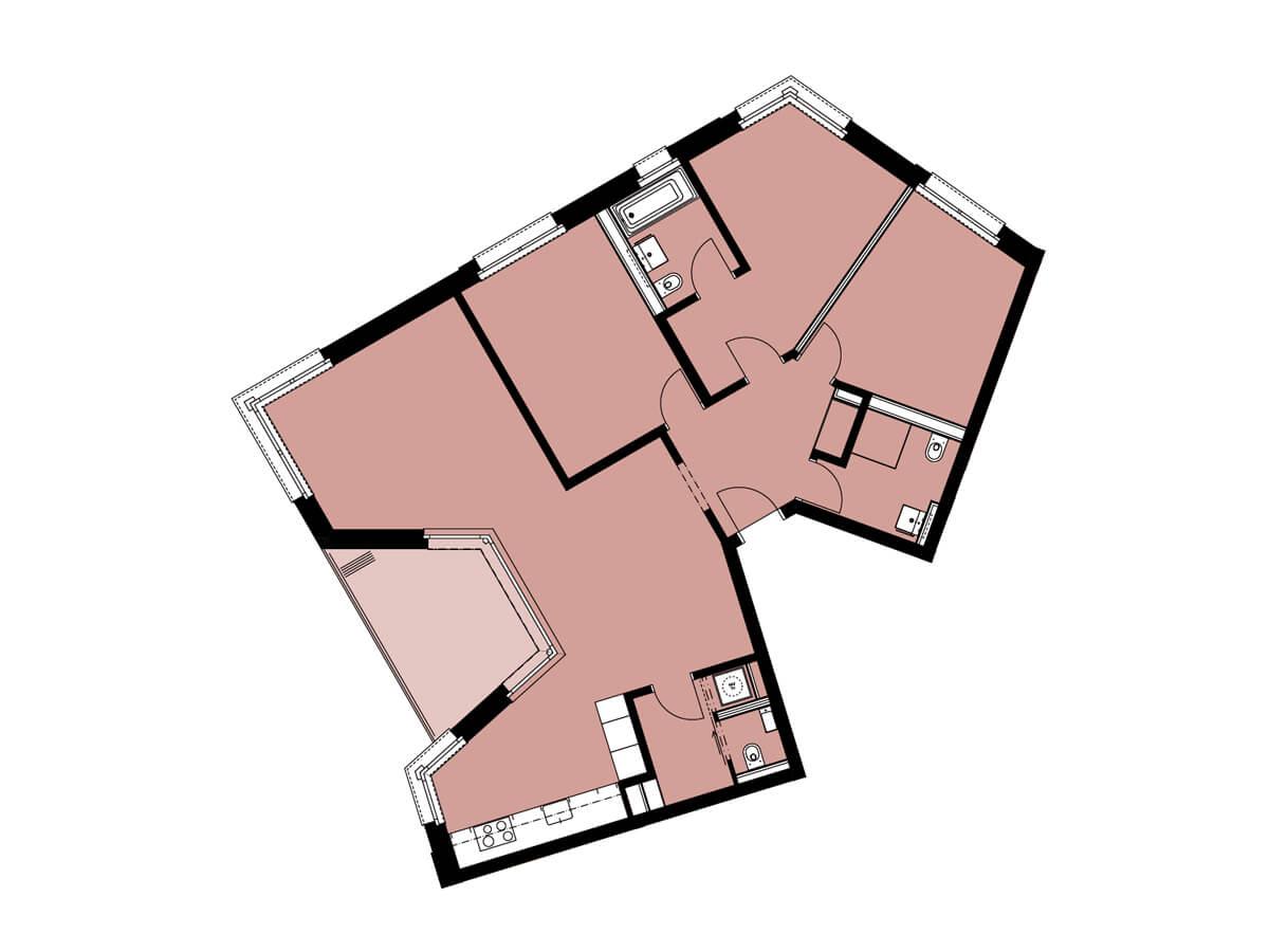Grundriss von C13