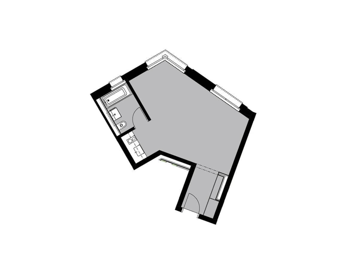 Grundriss von C22